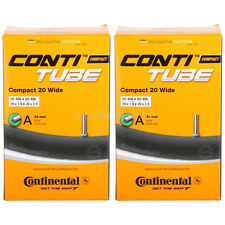 "CONTI COMPACT 20 WIDE SCHLAUCH 1.9-2.125"" BMX AV KINDER FAHRRAD CONTINENTAL TUBE"