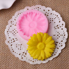 Chrysanthemum Silicone Mould Cake Mold Soap Mold For Candy Chocolate Baking