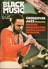 Grover Washington on Black Music Mag Cover March 1977   The Maytones  Gladiators