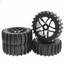 4pcs Beach Desert/Snow Tires Wheels Hex 17mm for Baja 1/8 RC Off Road Buggy
