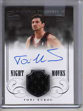 2013-14 National Treasures TONI KUKOC NIGHT MOVES AUTO JERSEY #7/99 JERSEY #!!