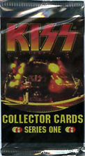 KISS COLLECTOR CARDS PACK SERIES ONE BOOSTER PACK TC- 9 CARDS PER PACK 1997