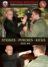 RUSSIAN MARTIAL ARTS DVD #4: Strikes - Punches - Kicks. Systema Spetsnaz