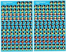 2 New sheets MINI Playful Penguins Scrapbook Stickers!