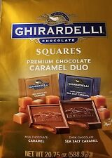 Ghirardelli - Caramel Duo Chocolate Squares - 39 Count - New - FREE SHIPPING