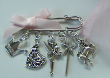 FAIRYTALE PRINCESS UNICORN GIRLS KILT PIN BROOCH BAG CHARM PARTY GIFT FAVOR XMAS