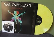 """Man Overboard """"Heart Attack"""" LP+ CD /500 NM The Wonder Years Fireworks"""