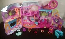 Littlest Pet Shop Tail Waggin Fitness Center 682 683 COMPLETE Accessories