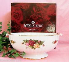 Royal Albert Old Country Roses Fluted Collection Serving Bowl New in Box