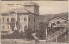 MONTEBELLO VICENTINO - VILLA CAV.FARINA (VICENZA) 1918