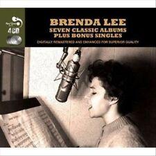 Seven Classic Albums Plus Bonus Singles [Box] by Brenda Lee (CD, Jan-2013, 4 Di…