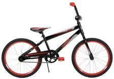 Boys 20 Inch Bike Black and Red Bicycle