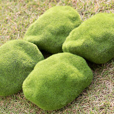 Grass Figurine Craft Plant Pots Fairy Miniature Dec Lawn Green Ornament S