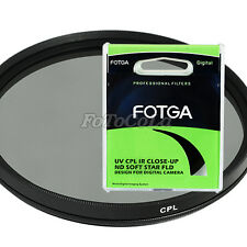 Fotga 52mm Circular Polarizing C-PL PL CPL Filter 52