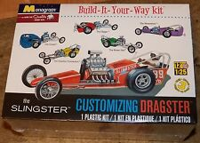 Revell Monogram Slingster early 60's Dragster  Model Kit 1/25