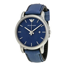 Armani Classic Blue Dial Mens Casual Watch AR1972