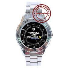 NEW Suzuki Bandit 650 S Motorcycle Bike CUSTOM CHROME MEN WRIST WATCH WATCHES