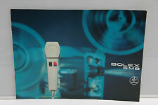 Bolex SM8 Projector Sales Brochure Pamphlet - English - USED B82 VG