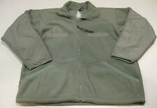 US Military WARMOR ECWCS Fleece Liner Jacket United Cold Weather Green LARGE L