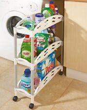 Espace genie 3 étages slide out rolling stockage cuisine salle de bain organisateur chariot