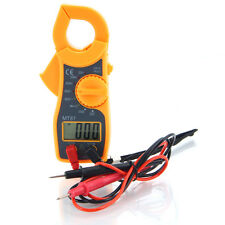 Portable Digital LCD Multimeter Clamp Ampere AC/DC Voltage Current Ohm Tester