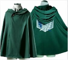 Anime Shingeki no Kyojin Cosplay Cape Cloak Clothes Cosplay Attack on Titan - LH