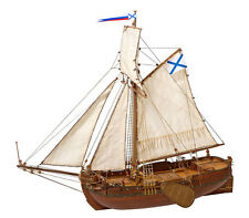 Deck-Boat St. Gabriel 1/72 wooden kit ship model Master korabel MK0301