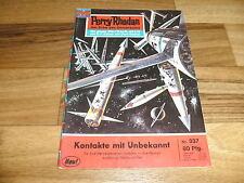 PERRY RHODAN  # 337 -- KONTAKT mit UNBEKANNT // 1. Auflage 1968