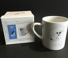 Magpie Jo Clark Design SIT! Jack Russell Mug With Box Free Ship!