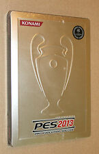 PES 2013 Pro Evolution Soccer Steelbook G1 no game new and sealed Konami