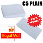 50 x C5/A5 PLAIN WHITE SELF SEAL ENVELOPES 90gsm SS