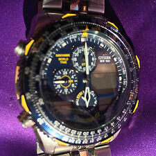 Citizen Quartz Navihawk Blue Angels watch model No.JNOXXX