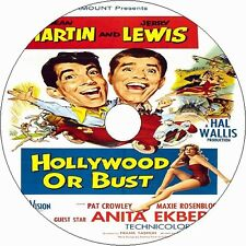HOLLYWOOD or BUST (1956) Dean Martin Jerry Lewis Anita Ekberg RARE DVD