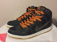 Nike SB Dunk High X Five One O 510 Skate Shop SZ 10 646552 037 Camo Diamond