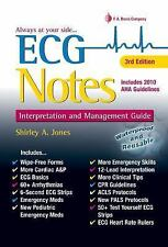 ECG Notes : Interpretation and Management Guide by Shirley A. Jones (2016,...