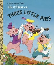 The Three Little Pigs (Disney Classic) (Little Golden Book) (Hardcover)BRAND NEW