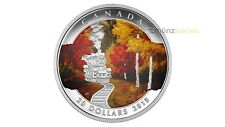 20 $ Dollar Autumn Bliss Express Herbstexpress Kanada 1 oz Silber PP Proof  2015