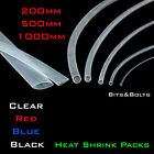 Heat Shrink Kit Various Colours & Lengths Tube Sleeving Car Wire Wrap Heatshrink