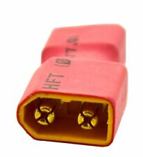 Deans T Plug Female to XT-60 Male Converter Connector Adapter Lipo Battery ESC