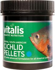 Vitalis Central South American dei CICLIDI PELLET S 120g cibo per pesci 1.5mm