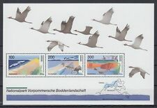 Germany Bund BRD 1996 ** Bl.36 Vögel Birds Naturpark Nature park