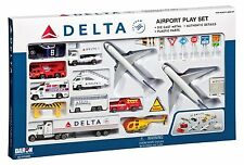 Daron RT4992 Delta 25pc. Airport Play Set NEW