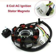 8 Coil AC Ignition Stator Magneto For GY6 50cc Scooter Moped Go Kart ATV Quad