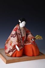 Japanese Noh Dancer Doll - KUMANO the lover- KIMEKOMI DOLL HTF