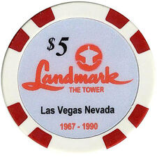 $5 Landmark Casino Fantasy Chip Las Vegas Nevada Collectible Chip FREE Shipping*