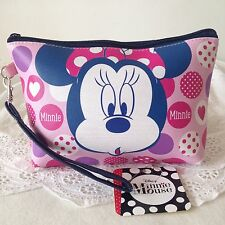 DISNEY MICKEY MOUSE Cosmetic Make Up Bag Accessory Pencil Case w 20 x h 14 cm.