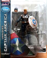 Disney Limited Ver. Marvel Select Captain America Winter Soldier UNMASKED Figure