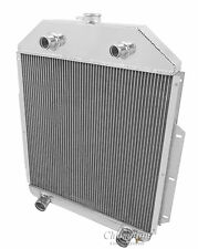 2 Row Peformance Radiator For 1942-52 Ford Truck Flathead Config
