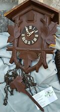 BLACK FOREST FEHRENBACH CUCKOO CLOCK BIRD 2 500 ET PINE CONE WEIGHT GERMANY FREE