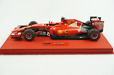 1/18 BBR FERRARI SF15-T G.P MALAYSIA VETTEL DELUXE RED LEATHER BASE LE15 MR